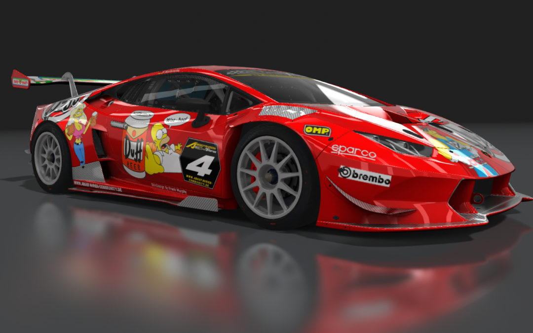 """Duff"" Lamborghini Huracan ST (Assetto Corsa)"