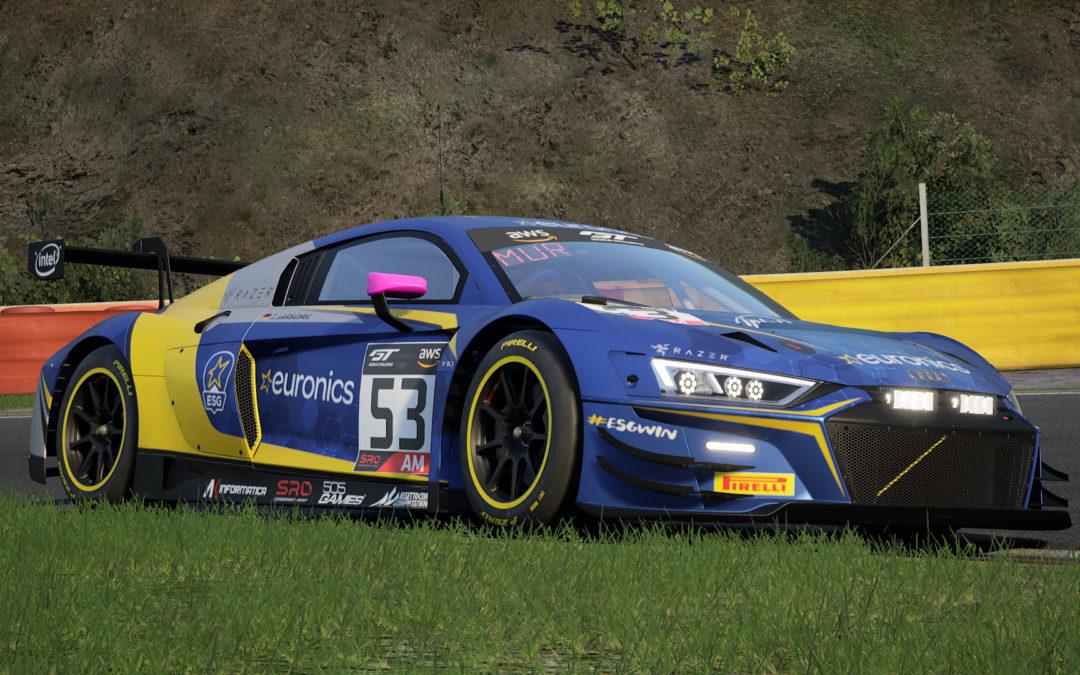 Euronics Gaming Audi R8 LMS