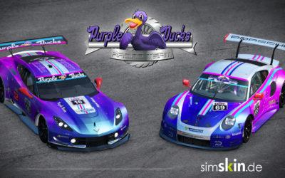 Welcome Purple Ducks!